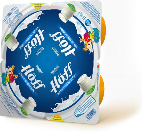 Sữa lên men dinh dưỡng Hoff – dành cho trẻ trên 6 tháng tuổi