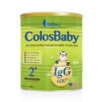 Sữa non Colosbaby 600 IgG 2+ - 400g (cho bé 0-12 tháng)