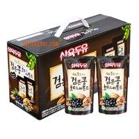 Sữa óc chó, đậu đen, hạnh nhân Hàn Quốc