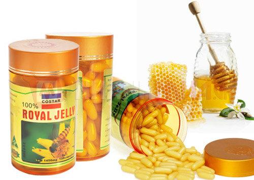 Sữa Ong Chúa Costar Royal Jelly 1450mg 100 Viên