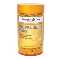 Sữa ong chúa Healthy Care Royal Jelly 1000 mg 365 viên