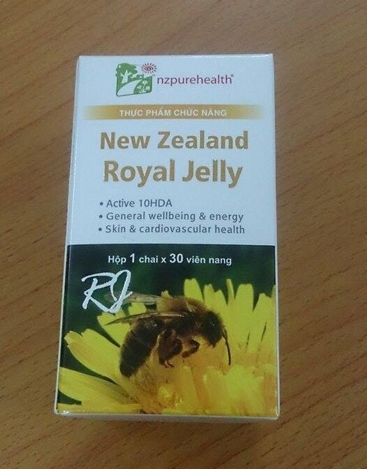 Sữa ong chúa New Zealand Royal Jelly