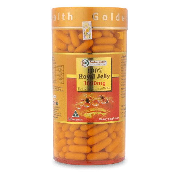 Sữa Ong Chúa Úc Golden Health Royal Jelly 1600mg