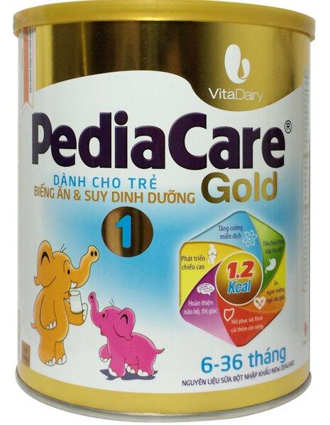 Sữa PediaCare Gold 1 900g (6 – 36 tháng)