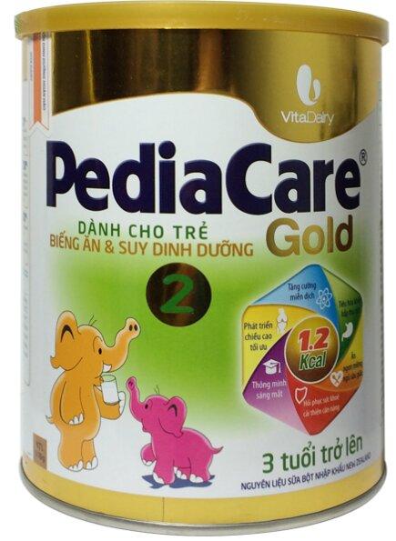 Sữa PediaCare Gold 2 900g (3 tuổi trở lên)