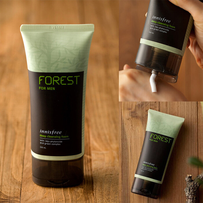 Sữa rửa mặt cho nam Innisfree For Men Deep Forest Cleansing Foam 150ml