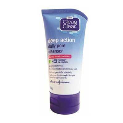 Sữa rửa mặt Clean & Clean Deep Action Daily Pore 50g