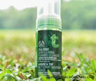 Sữa rửa mặt dạng bọt The Body Shop Tea Tree Skin Clearing Foaming Cleanser 150ml
