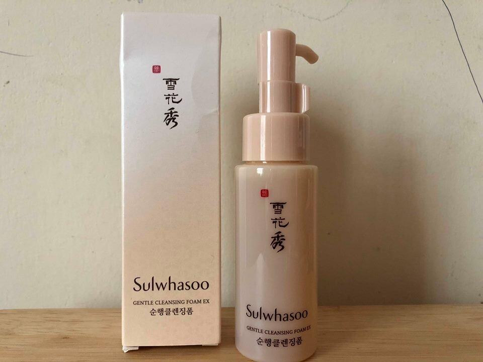 Sữa rửa mặt dịu nhẹ Sulwhasoo Gentle Cleansing Foam Ex 50ml