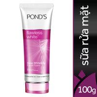 Sữa rửa mặt dưỡng trắng Pond's Flawless White Deep Whitening Facial Foam 100g
