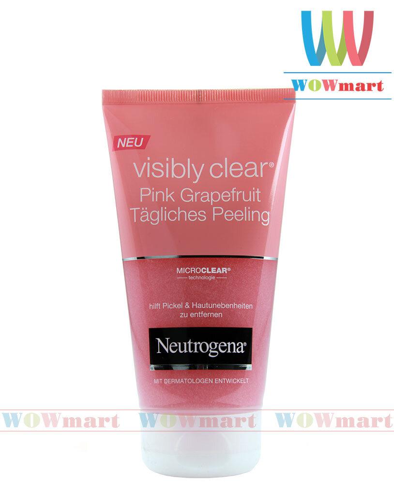 Sữa rửa mặt hương hoa hồng Neutrogena Pink Grapefruit 150ml