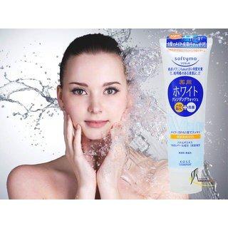 Sữa rửa mặt Kose Softymo White 190g