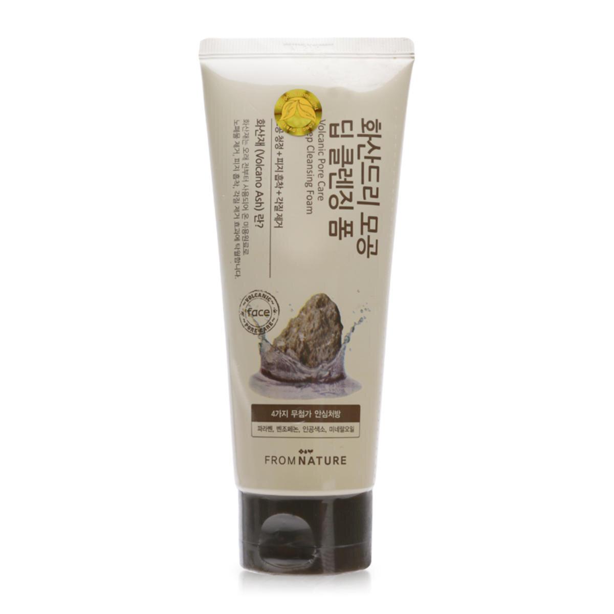 Sữa rửa mặt làm sạch lỗ chân lông From Nature Vocalnic Pore Care Deep Cleansing Foam 130g
