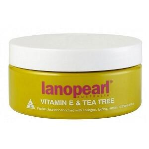 Sữa rửa mặt Lanopearl tinh chất trà xanh và Vitamin E – LA17