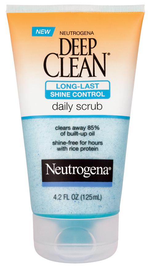 Sữa rửa mặt Neutrogena Deep Clean Long-last Daily Scrub 125ml