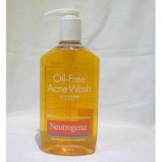 Sữa rửa mặt Neutrogena Oil Free Acne Wash - 269 ml (Sữa rửa mặt trị mụn dạng gel)