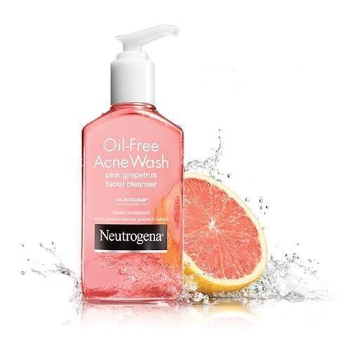 Sữa rửa mặt Neutrogena Oil Free Acne Wash - 177ml (Sữa rửa mặt trị mụn dạng gel)
