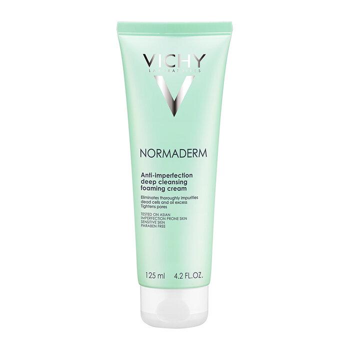 Sữa rửa mặt ngừa mụn & se lỗ chân lông Vichy Normaderm Anti-perfection Deep Cleansing 125ml