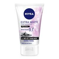 Sữa rửa mặt sáng da mờ vết thâm Nivea extra white 50g