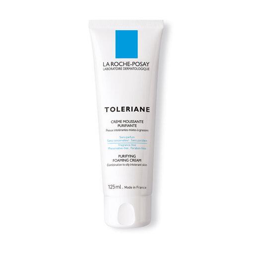Sữa rửa mặt tạo bọt dành cho da hỗn hợp và da dầu quá nhạy cảm Toleriane Purifying Foaming Cream