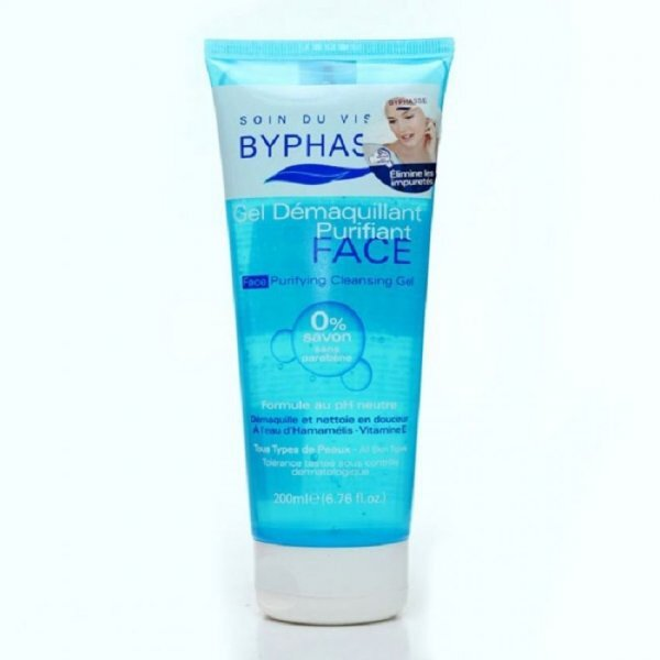 Sữa rửa mặt tẩy trang dạng Gel Byphasse Face Purifying Cleansing