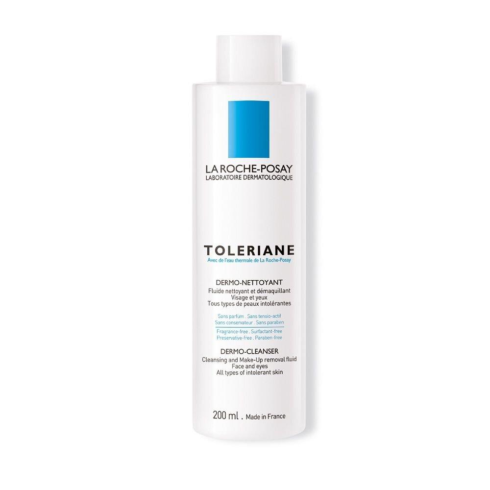 Sữa rửa mặt & tẩy trang dành cho da quá nhạy cảm - Toleriane Dermo Cleanser - La Roche Posay - 200ml