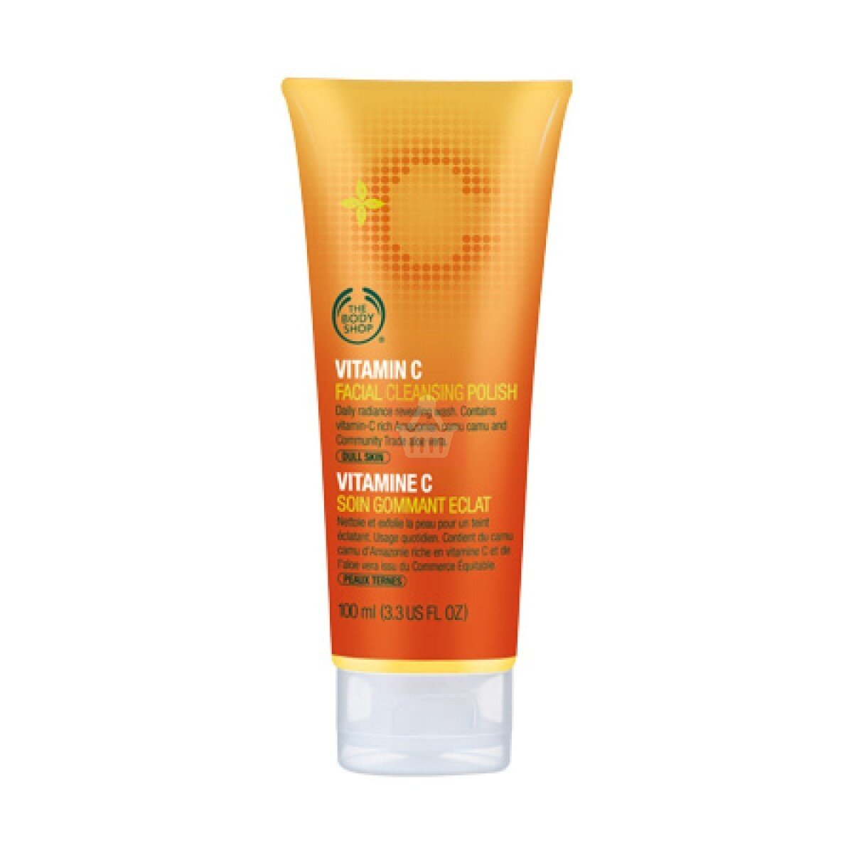 Sữa rửa mặt The Body Shop Vitamin C Facial Cleansing Polish 125ml