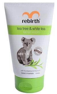Sữa rửa mặt tinh chất trà xanh và trà trắng LANOPEARL RB34 100ml