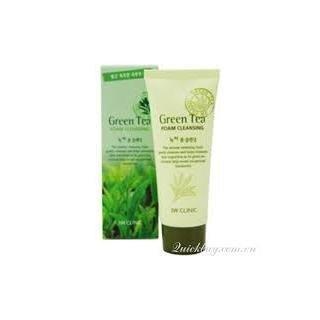 Sữa rửa mặt trà xanh 3W Clinic Green Tea 100ml