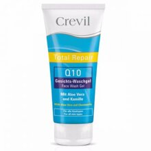 Sữa rửa mặt trắng da, ngừa mụn Crevil total repair Q10 face wash - 200ml