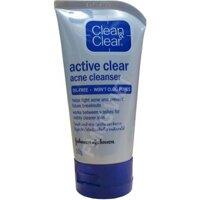 Sữa rửa mặt trị mụn Active clear acne cleanser 100g