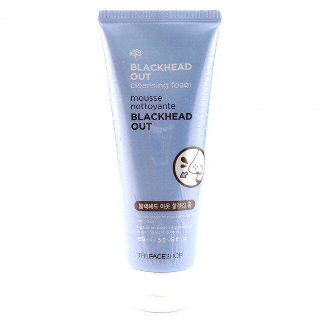 Sữa rửa mặt trị mụn đầu đen Blackhead Cleansing Foam The Face Shop
