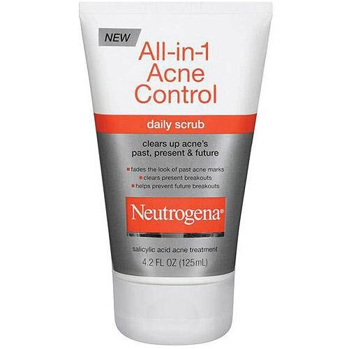 Sữa Rửa Mặt Trị Mụn Neutrogena Siêu Tốc All-in-1 Acne Control Daily Scrub