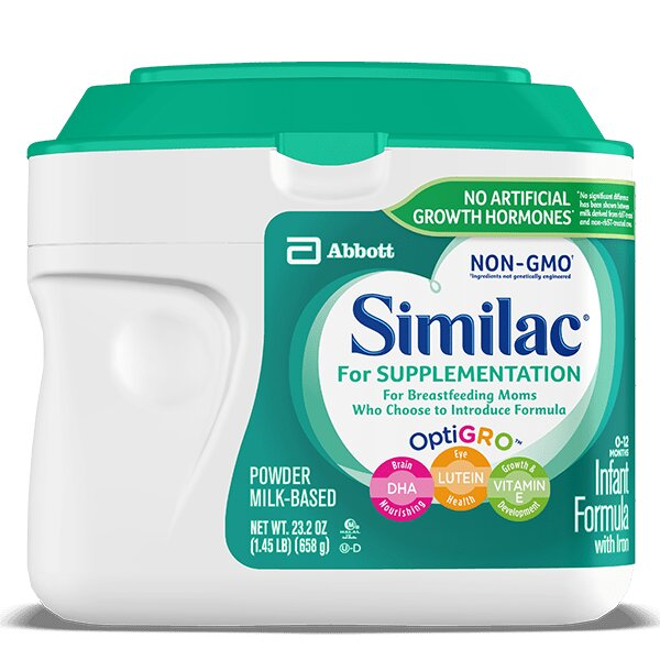 Sữa Similac for Supplementation Non-GMO