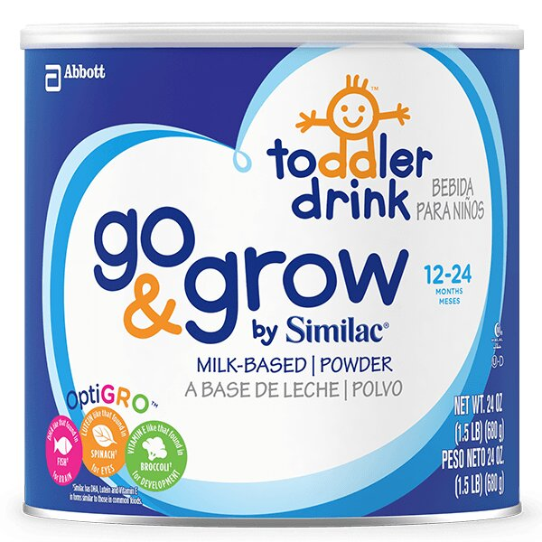 Sữa Similac Go and Grow Milk-Based Toddler Drink - 680g