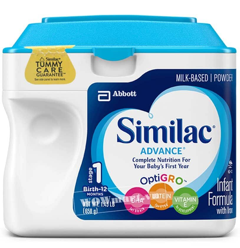 Sữa Similac Pro Advance Non Gmo – Hmo - 964g
