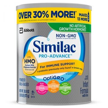 Sữa Similac Pro advance Non-GMO HMO - cho bé 0 - 12 tháng tuổi,  873g
