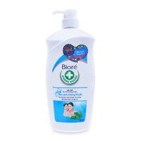 Sữa tắm Biore mát lạnh kháng khuẩn chai 800g