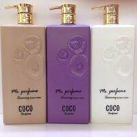 Sữa tắm Coco Perfume Charming Shower Cream - 800 ml