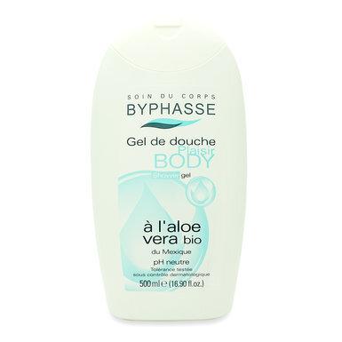 Sữa tắm dạng gel Byphasse Aloe Vera 500ml