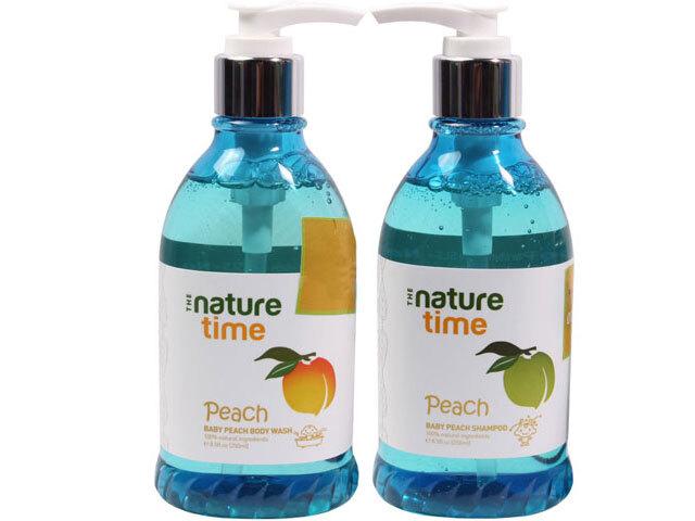 Sữa tắm đào tây Nature Time Peach 250ml