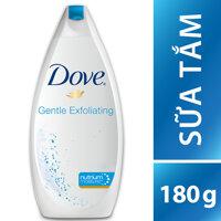 Sữa tắm dưỡng thể Dove Gentle Exfoliating 180g