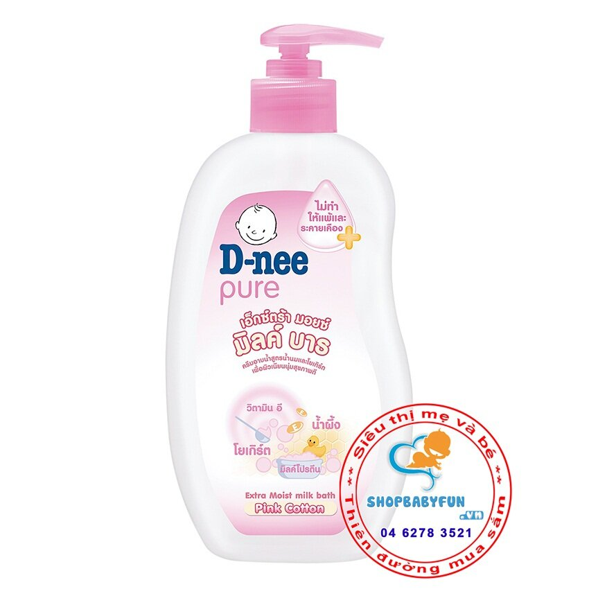 Sữa tắm gia đình chứa sữa D-Nee 200ml