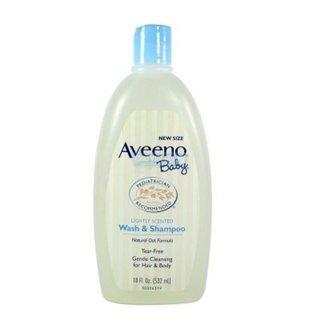 Sữa tắm gội Aveeno Baby Wash & Shampoo 236ml