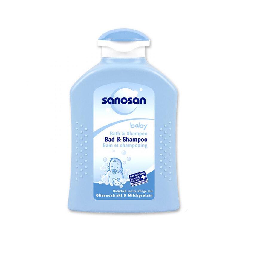 Sữa tắm gội cho bé Sanosan baby bath & sampoo 200ml