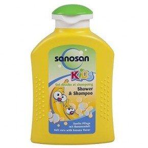 Sữa tắm gội hương trái cây chuối Sanosan 200ml