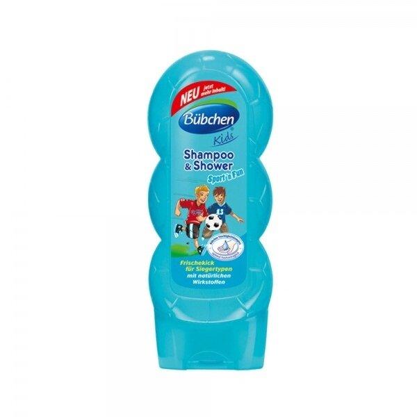 Sữa tắm gội thể thao Bubchen 99858 - 230ml