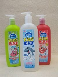 Sữa tắm gội xả cho bé White Rain Kids 3 in 1 của Mỹ 783ml