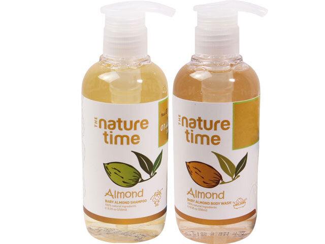Sữa tắm hạnh nhân Nature Time 250ml