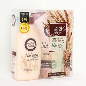 Sữa tắm Happy Bath Natural Real Milk